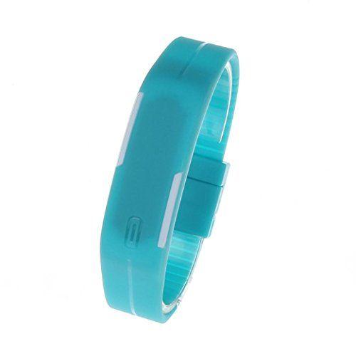 Generic® Ultra Thin Silikon-Digital LED Sports Armband-Armbanduhr (Blau) - http://on-line-kaufen.de/generic/generic-ultra-thin-silikon-digital-led-sports