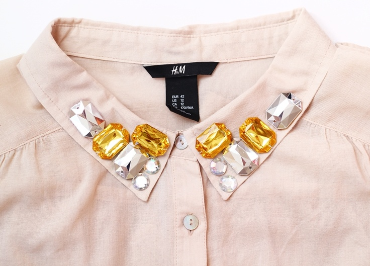 Miracles Everywhere: ► DIY / BLING COLLAR ◄