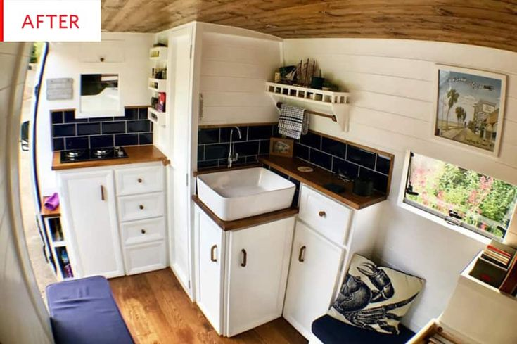Before and After: This Converted Sprinter Van Even Has an ...