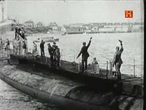 Submarinos en la 1º Guerra mundial - YouTube