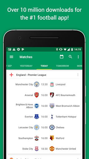 Soccer Scores Pro - FotMob v61.0.3736.20170907 [Paid]   Soccer Scores Pro - FotMob v61.0.3736.20170907 [Paid]Requirements:4.1Overview:The #1 football app offering real time scores news and breaking news notifications from your favorite teams  FotMob covers World Cup 2018 Premier League Championship League 1&2 National North&South La Liga Bundesliga Champions League and all the major leagues and tournaments in the world over 200 leagues in total!  Over 10000000 people already installed…