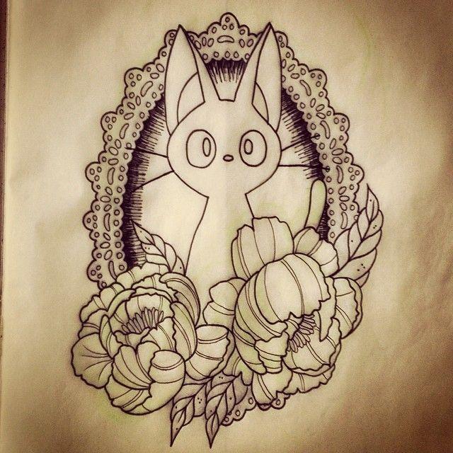 530 best tattoos miyazaki images on pinterest studio for Kiki tattoo artist