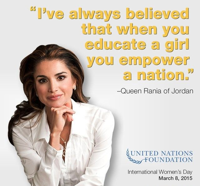 the life of jordans queen rania al abdullah Married to king abdullah ii ibn al hussein of jordan they have 4 children  queen rania's speech at the ebrd annual meeting and business forum.