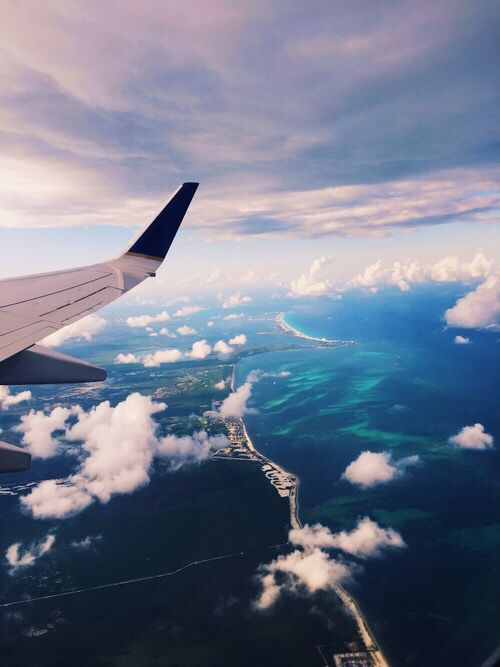 One of my favorite things is the view from the window seat.... I love to fly