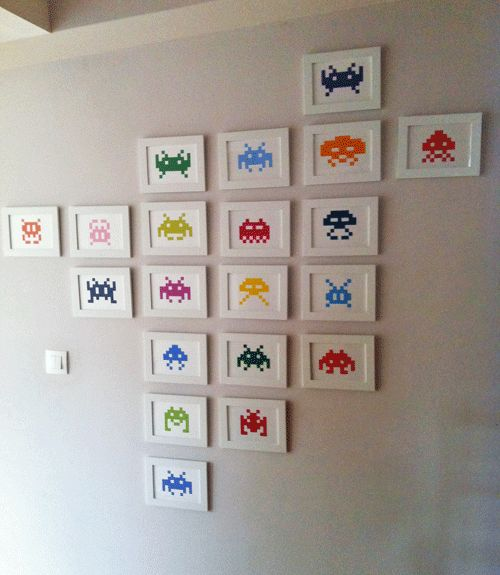 mur space invaders