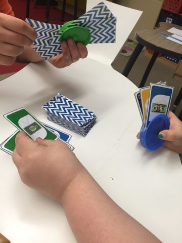 Fun UNO math game that works on coins or bills!