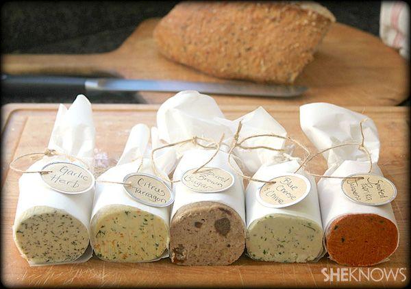 5 Compound butter recipes: Smoked Paprika Jalapeno, Brown Sugar Walnut & Raisin, Citrus Tarragon, etc