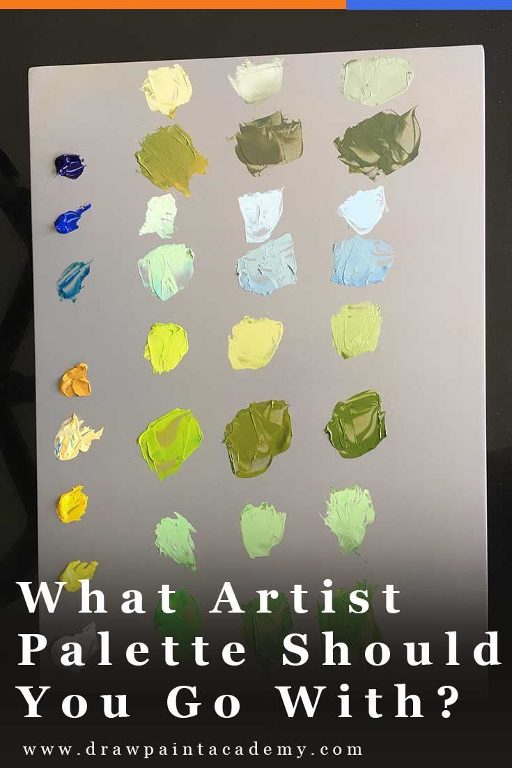 Artist Palettes The Different Types Of Palettes For Painting
