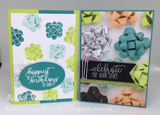 Picture perfect birthday party Stampin Up