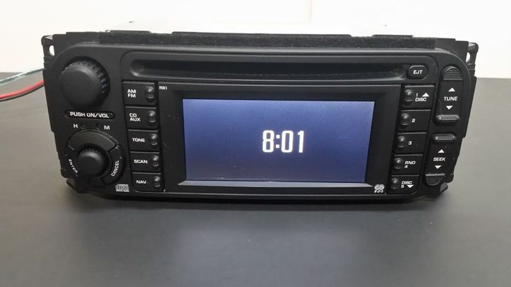 2002-2009 JEEP DODGE CHRYSLER NAVIGATION GPS RDS CD RADIO STEREO RB1 P56038629AI #Chrysler