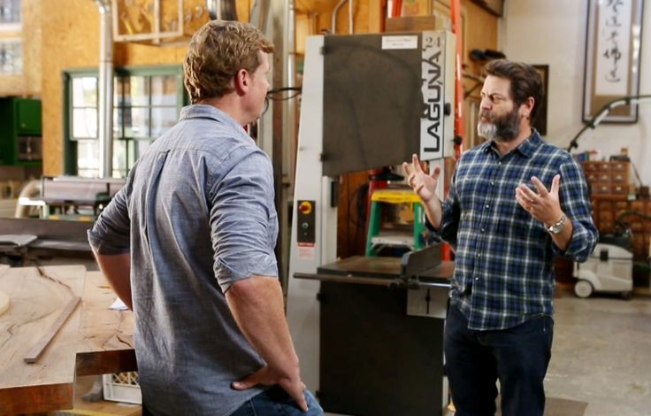 """Click here to get an excerpt from Nick Offerman's new book, """"Good, Clean Fun."""""""