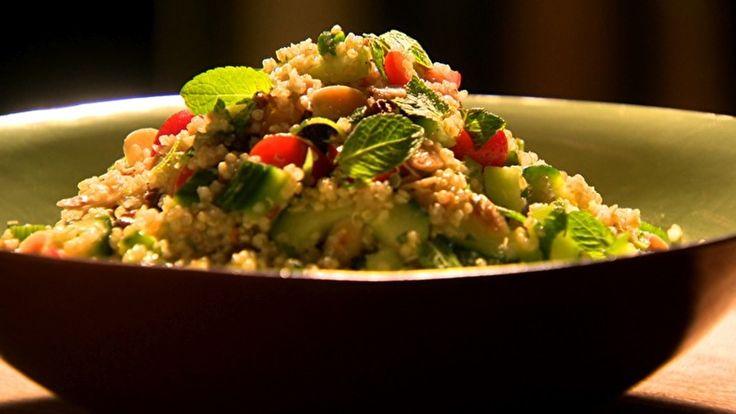 Salada de quinoa: receita do Gordon Ramsay - Receitas - GNT