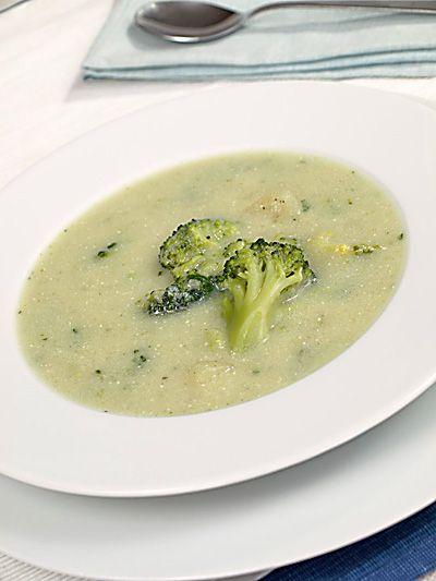 Zupa kalafiorowo - brokułowa - MniamMniam.pl