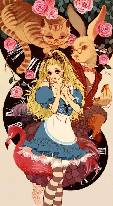 """""""Alice In Wonderland"""" by manga artist Hiromi Matsuo"""