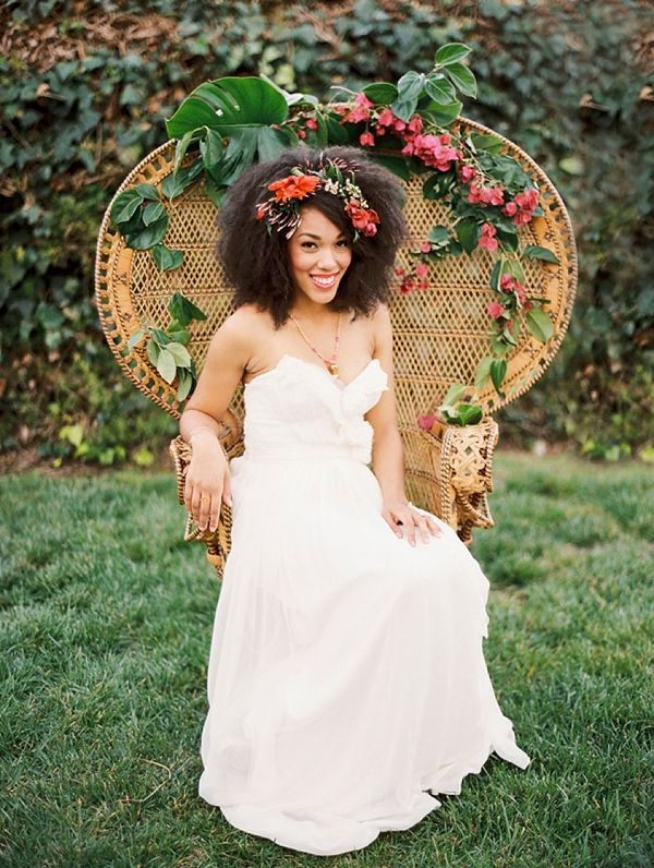 20 Totally Swoonworthy Hairstyles For Black Brides Black Wedding