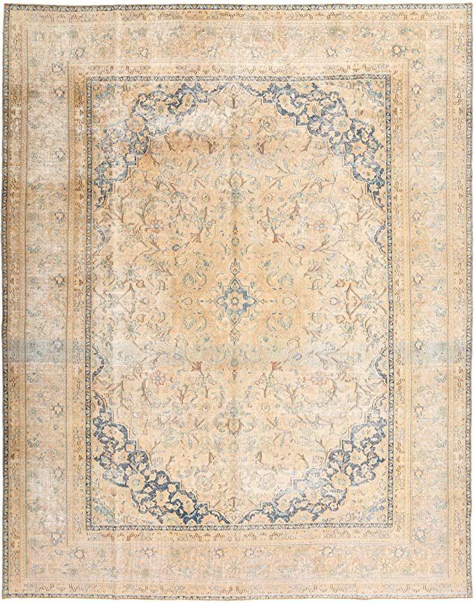 Rugvista Vintage Rug 9 4 Quot X12 4 285x375 Cm Modern Carpet In 2020 Modern Carpet Vintage Rugs Rugvista