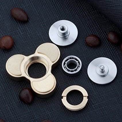 Panda Fidget Spinner Classic Stress Toy by AnyGO - Best Metal EDC Hand Spinner for Children