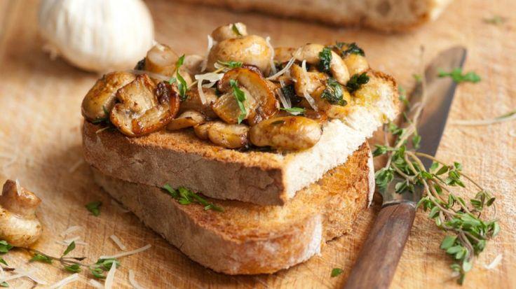 Toast champignon | VTM Koken