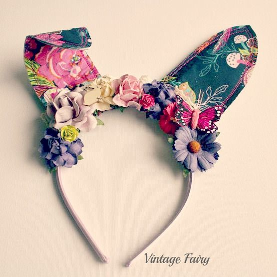 Tabatha bunny ears by Vintage Fairy {PRE ORDER}