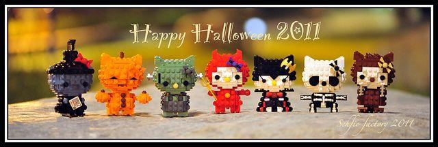 lego kitty halloween