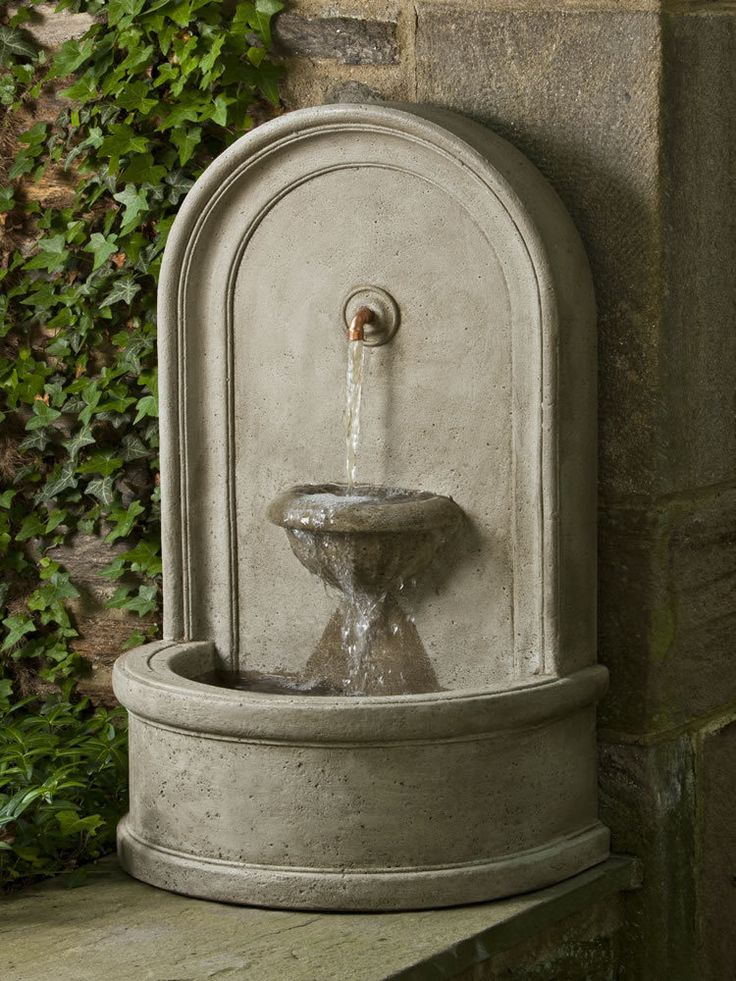 Colonna Fountain - Garden Fountains & Outdoor Decor: