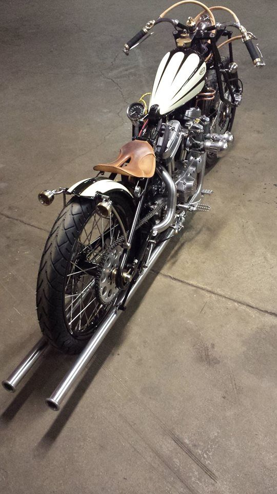 SnowFlake Custom Sportster | Motorcycle | Totally Rad Choppers