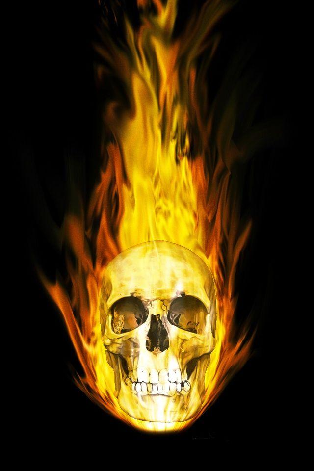50 cool 3d wallpapers for iphone 6 skull art skulls and - Skull wallpaper iphone 6 ...
