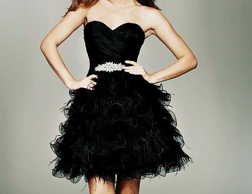 Minkpink black swan dress victorian