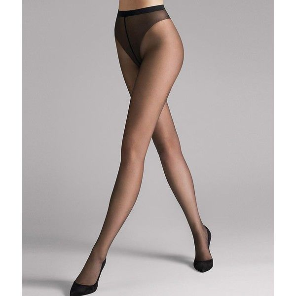 Wolford Luxe 9 Denier Sheer Pantyhose ($33) ❤ liked on Polyvore featuring intimates, hosiery, tights, pantyhose, ultra sheer, women, wolford stockings, wolford tights, panty hose stockings and wolford pantyhose