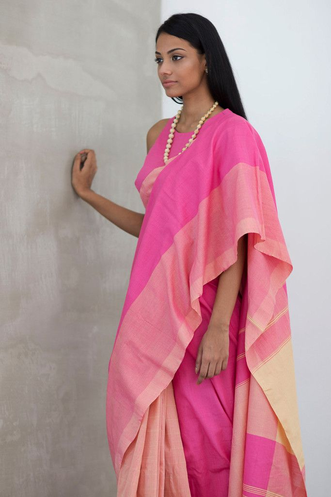 Rose Saree from Fashionmarket.lk