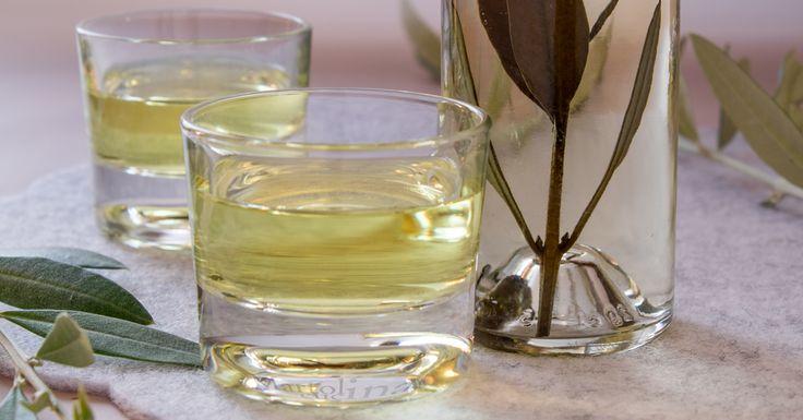 Il liquore di ulivo è semplice da preparare ma sentirete che bontà. Le foglie di ulivo hanno molte proprietà, ma io lo faccio perchè è buonissimo!