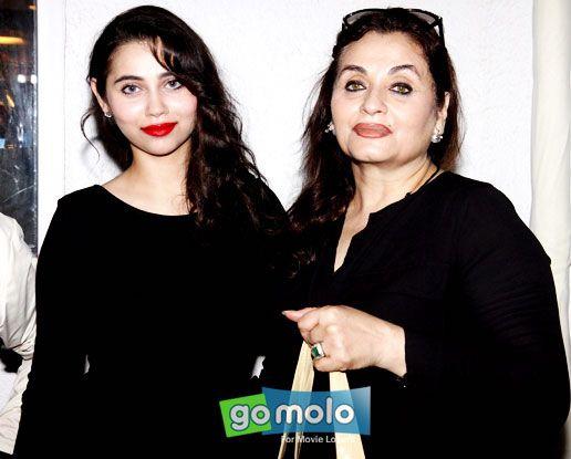 Sasha Agha & Salma Agha at the Launch of 'Perfect Miss India' contest in Mumbai