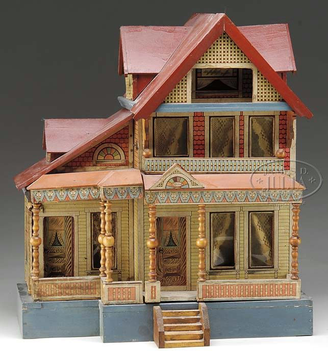340 Best Images About Doll Houses On Pinterest