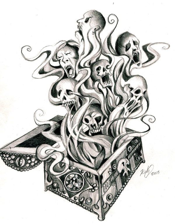 Pandora's Box Tattoo by *Lucky978 on deviantART