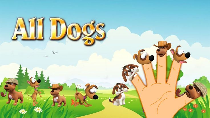 Finger Family Song of All Dogs || Finger Family Nursery Rhymes for Kids
