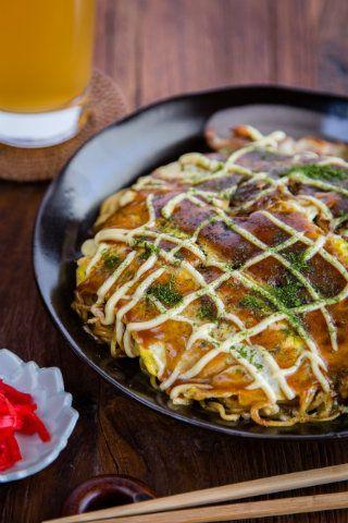 Hiroshima okonomiyaki | Just One Cookbook