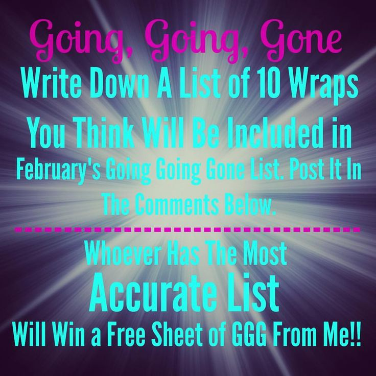 Ggg List