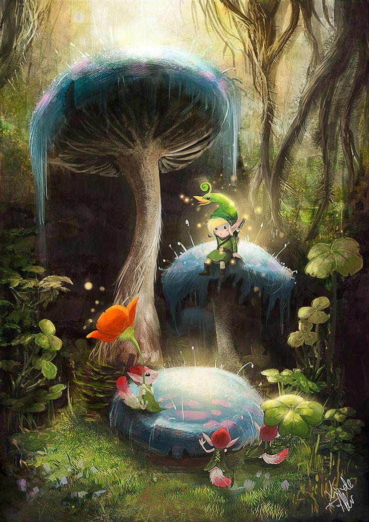 The Legend of Zelda: The Minish Cap- Created by Linda Treffler