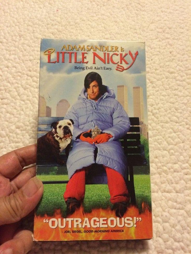 LITTLE NICKY VHS with Adam Sandler  | eBay