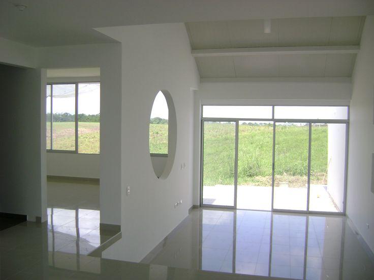 casa Daniel, interior , integración estudio sala
