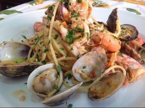 Spaghetti allo scoglio - Chef Stefano Barbato - YouTube