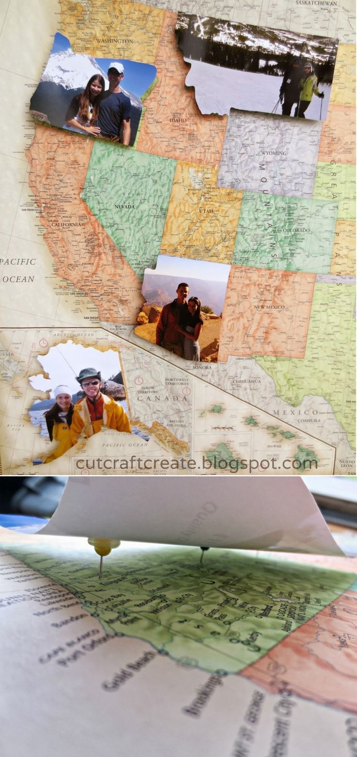 Create a personalized photo map.