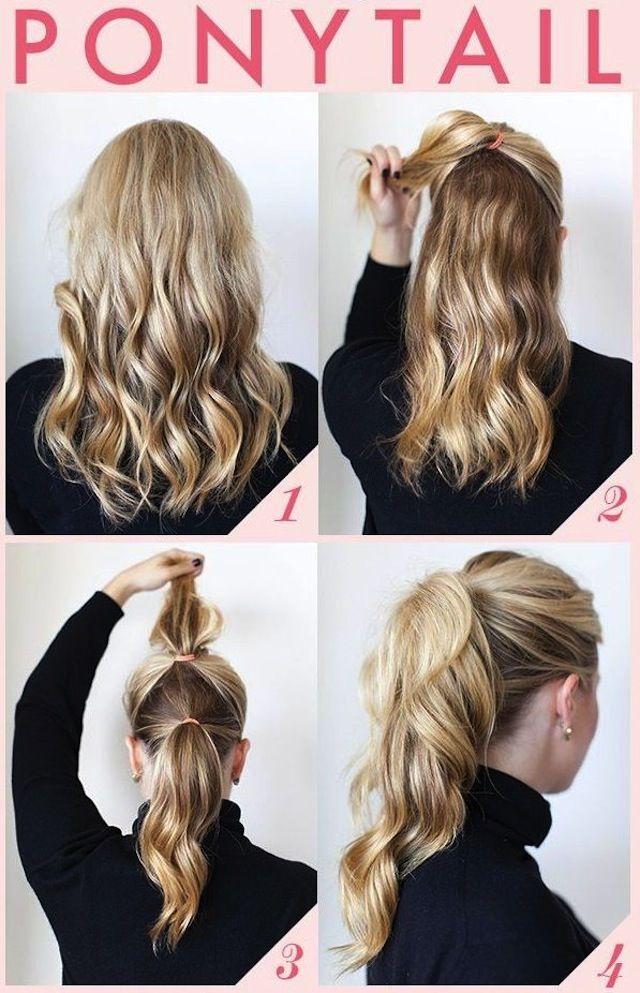 easy hairstyles awkward