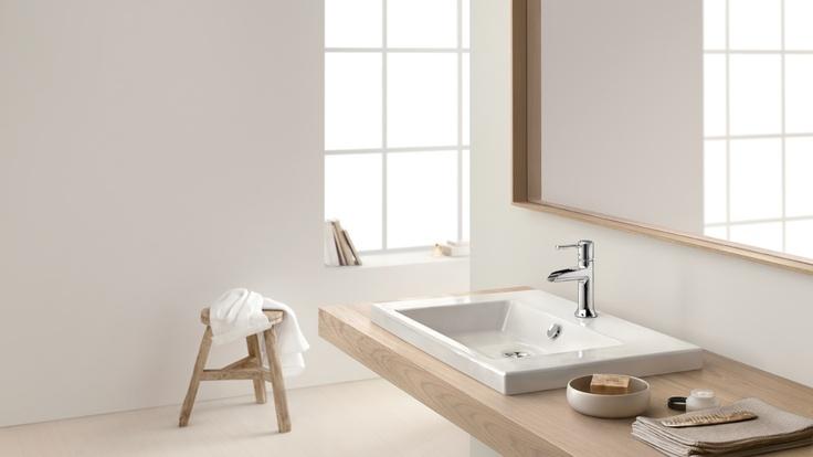 Classic bathroom design: #hansgrohe #TalisClassic #Talis