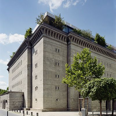 Sammlung Boros; Old meets new. Private art collection spread over 80 rooms of a converted bunker.  Can be visited only by advance appointment - MITTE