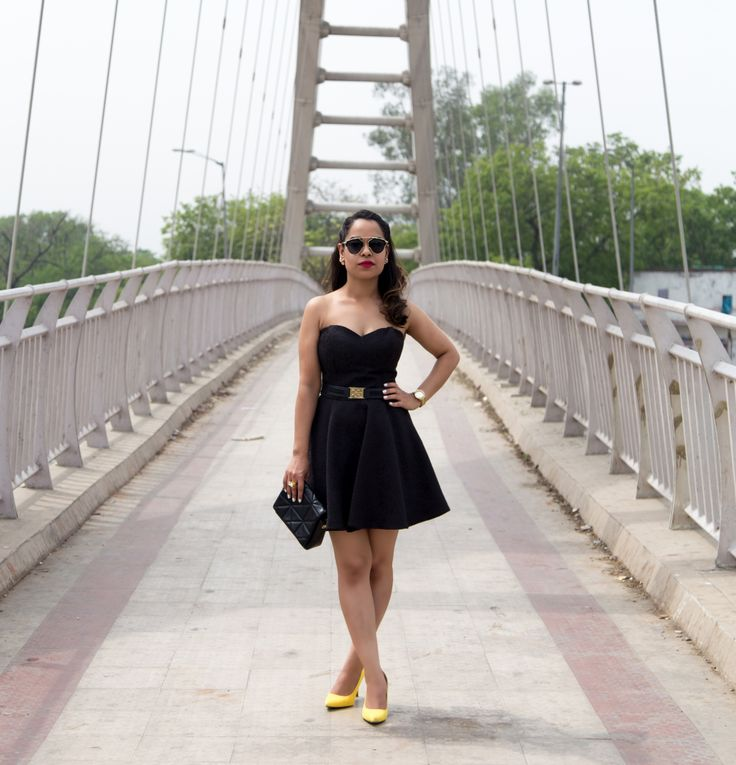 Switch your look from day to night with some easy Breezy transitions. Read the complete story on www.amillionbucks.in Image courtesy @pallaviarora2012  summerstyle streetstyle fblogger yellowpumps shoes ootd lookbook lookoftheday outfitoftheday musthave minimal summertrends fashionpost fashion stylefile chic style fashiondiaries fashionblog fashionblogger fashionaddict indianfashionblogger dailylook    mycloset littleblackdress sweetheart neckline LBD blackandwhite