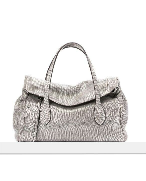 Must have! Gianni Chiarini silver handbag.