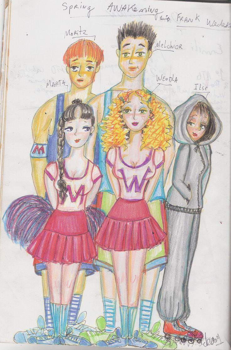 ilustração para o despertar da primavera- 2009