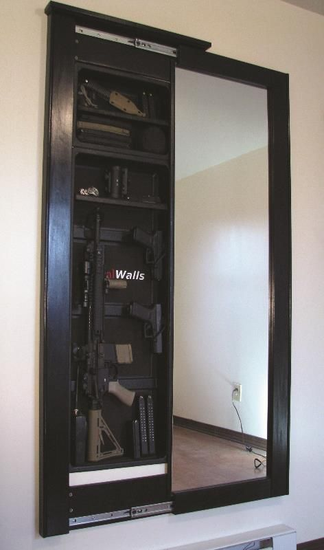 Tactical Walls Concealment Prototype --- I have a feeling something like this will end up in my home. ;)