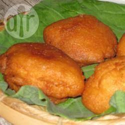 Bolinho de feijão frito @ allrecipes.com.br